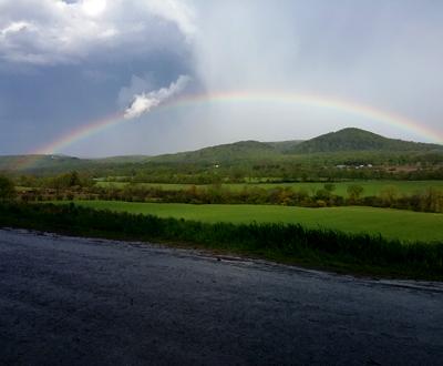 NY Farm Rainbow