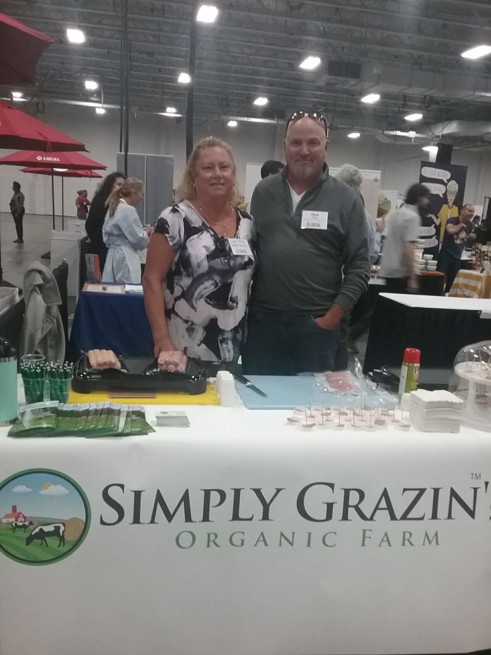 Simply Grazin' table at WFM Supplier Summit 2019