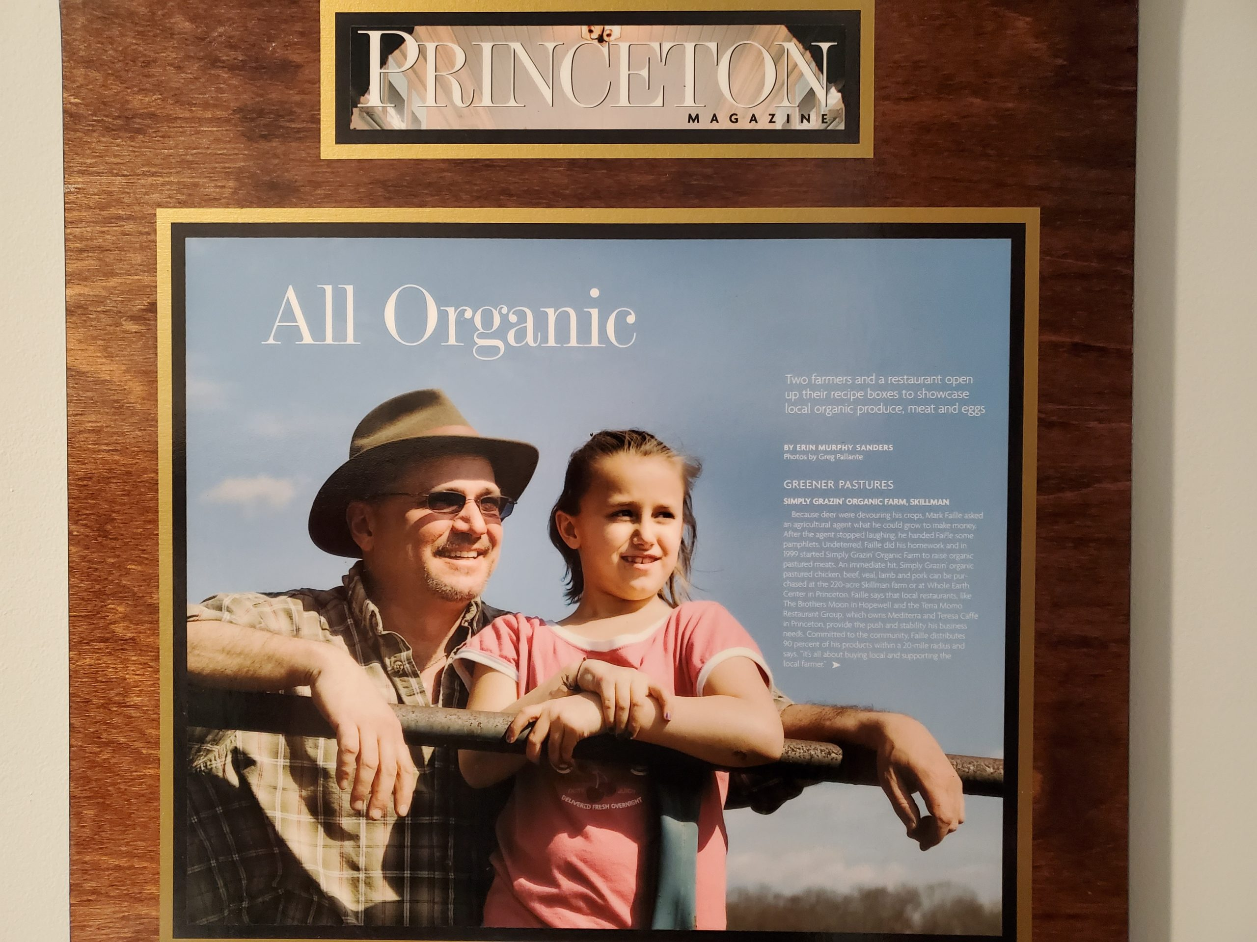 Princeton Magazine Article on Simply Grazin'