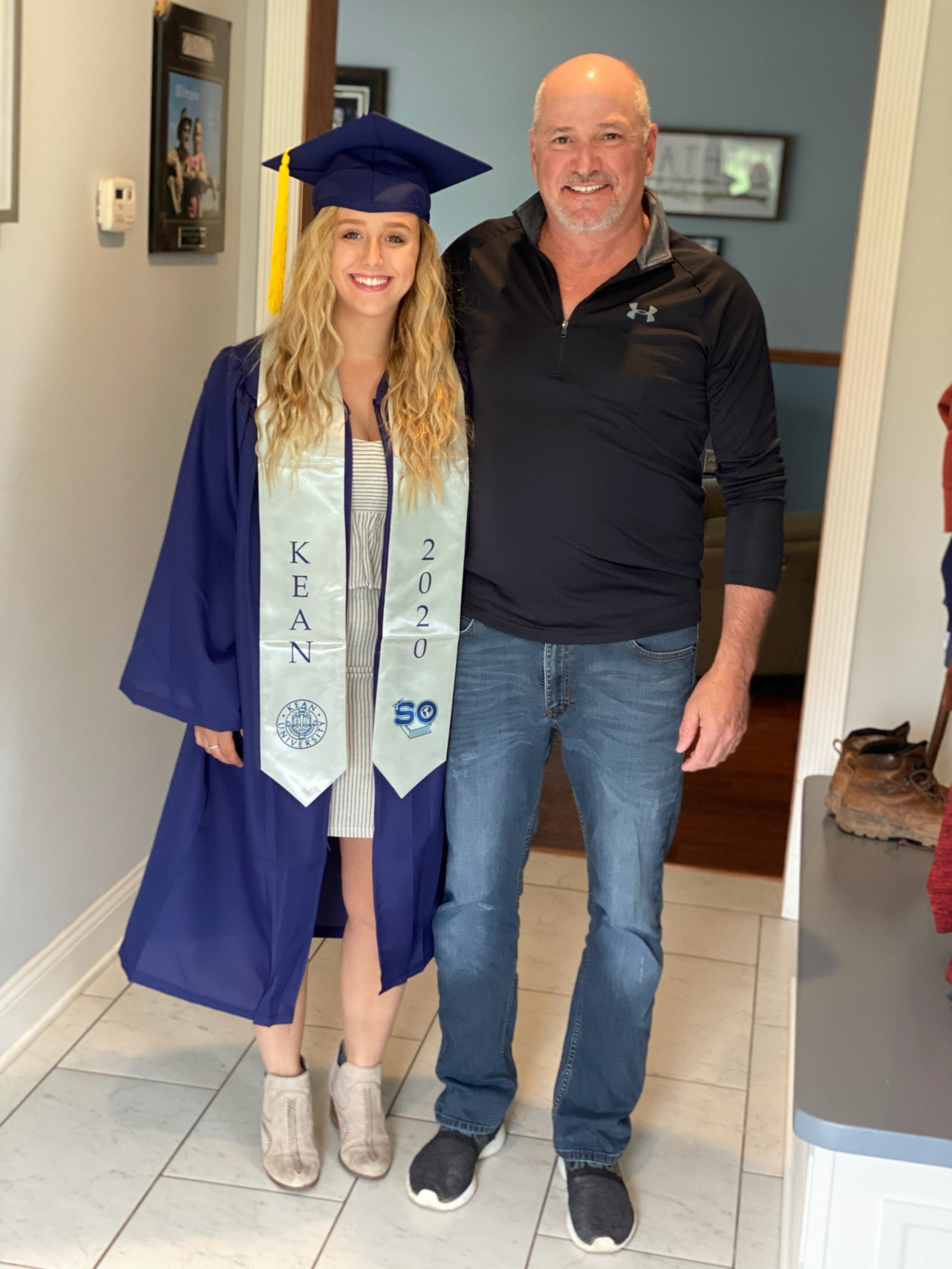 Stay at home Graduation for Stacie Faille
