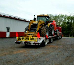 Simply Haulin' moving equipment from NY to VA