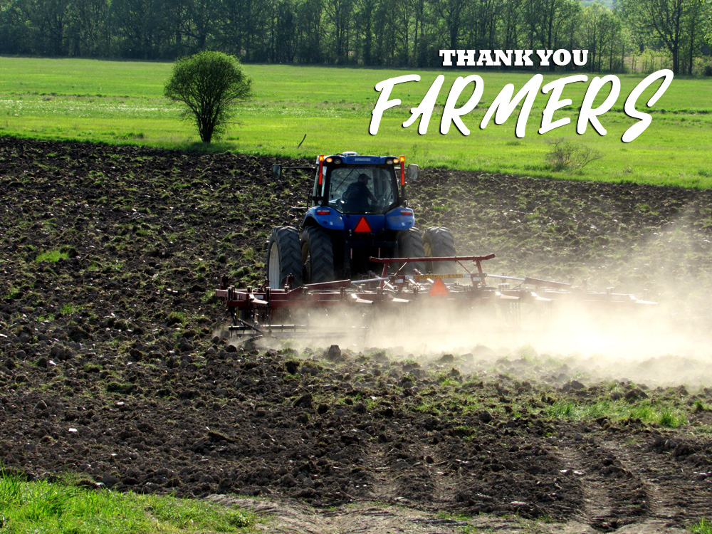 National Farmer's Day- thank you Farmers