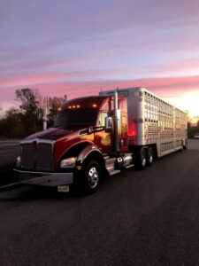 Simply Haulin' tractor and trailer