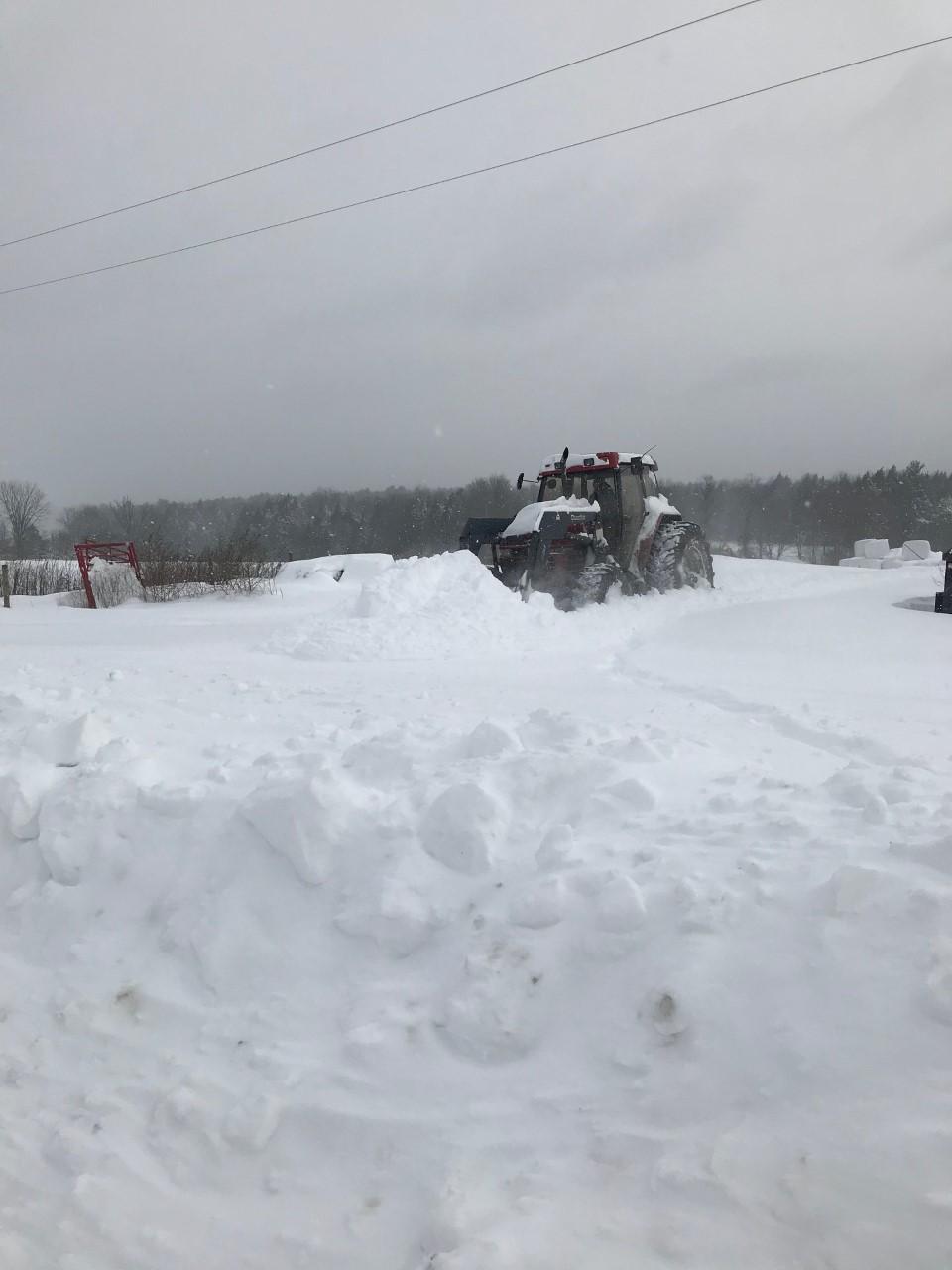 Snow storm December 17, 2020