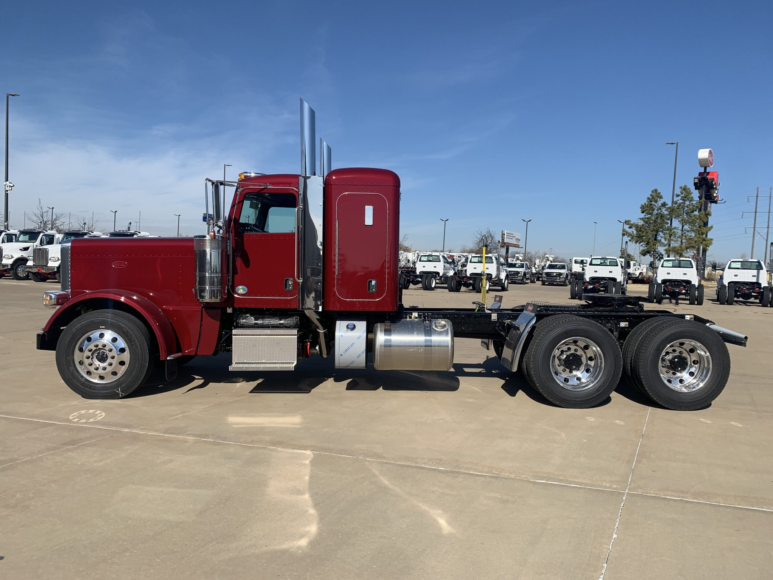 2022 Peterbuilt truck purchased for Simply Haulin'