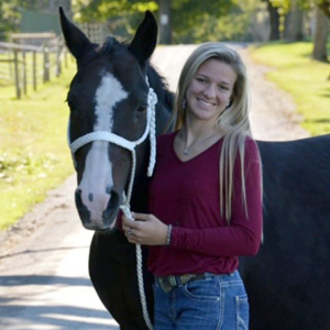 Kylah Lindgren- Simply Grazin Farm Operations Equine Specialist