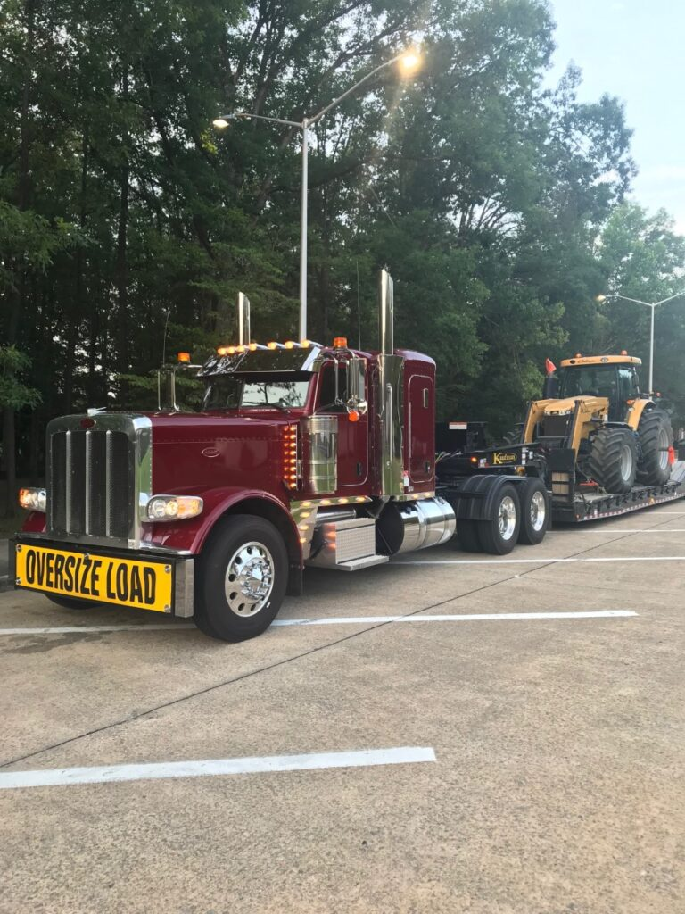 Simply Haulin' new truck out on on the road